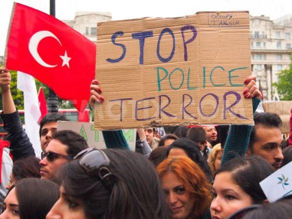 turkey police brutality